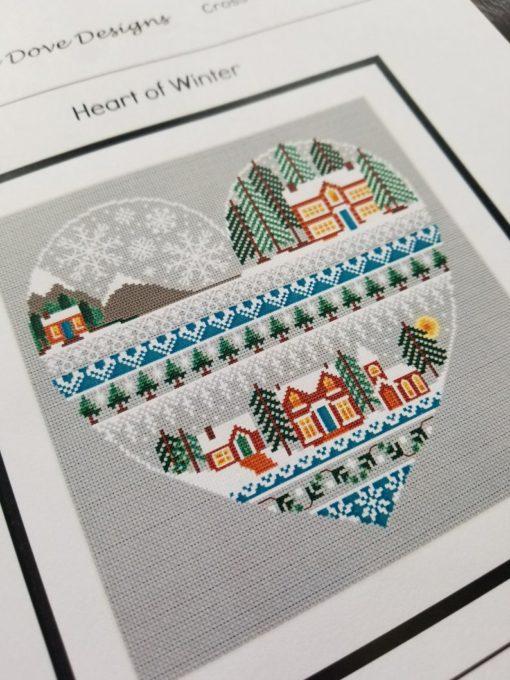 Little Dove Designs HEART OF Winter Cross Stitch Pattern