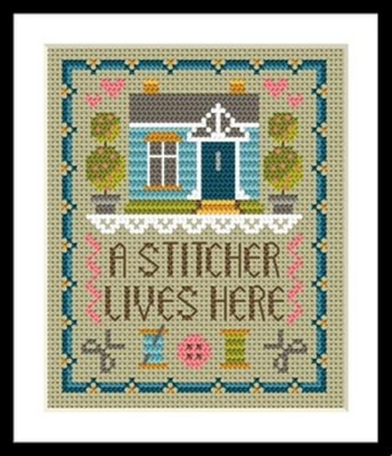 Little Dove Designs ~ HOME of A STITCHER Cross Stitch Pattern