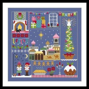 Little Dove Designs Winter Cross Stitch Pattern