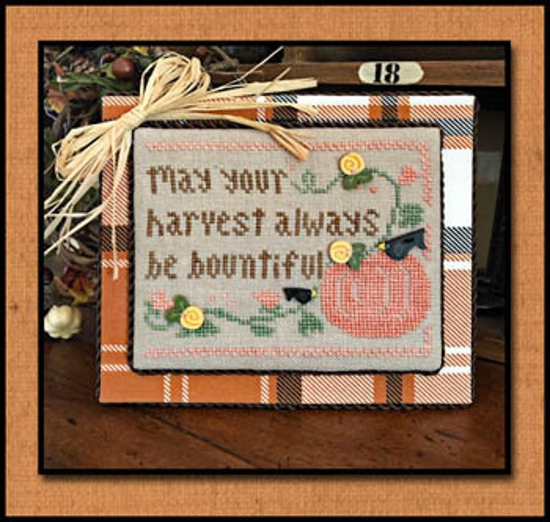 Little House Needleworks BOUNTIFUL HARVEST Cross Stitch Pattern