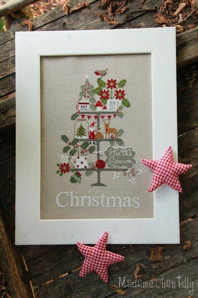 Madame Chantilly CELEBRATE CHRISTMAS Cross Stitch Pattern