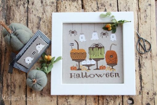 Madame Chantilly HALLOWEEN GOODIES Cross Stitch Pattern