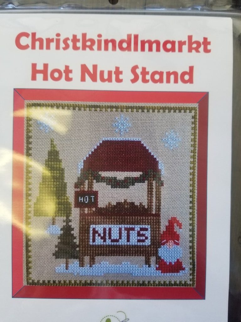 Pickle Barrel CHRISTKINDLMARKT NUT STAND Cross Stitch Pattern #7