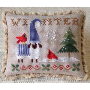 Plum Pudding NeedleArt SEASONS COLLECTION WINTER Cross Stitch Pattern