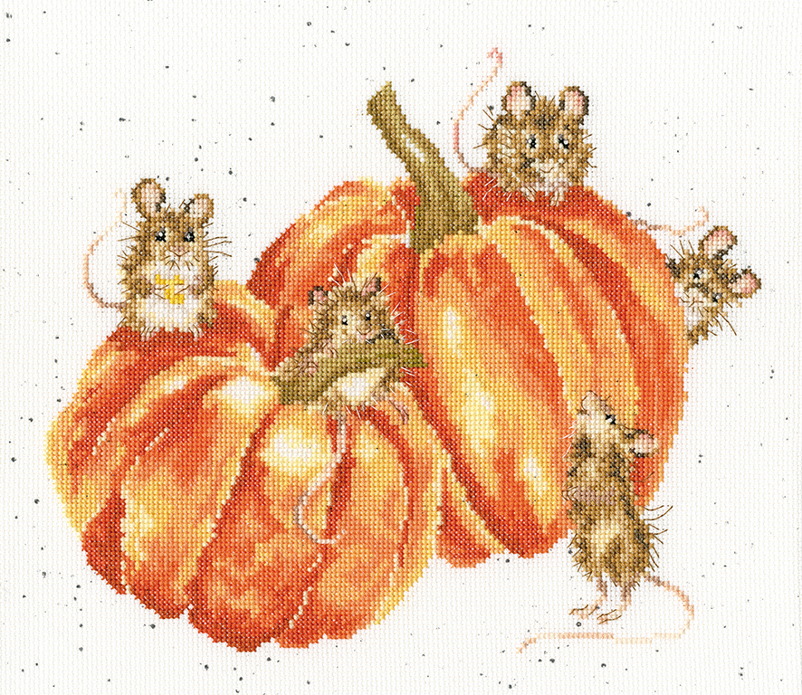 Bothy Threads PUMPKIN, SPICE And All Things MICE Cross Stitch Kit