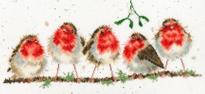 Bothy Threads ROCKIN' ROBINS Cross Stitch Kit