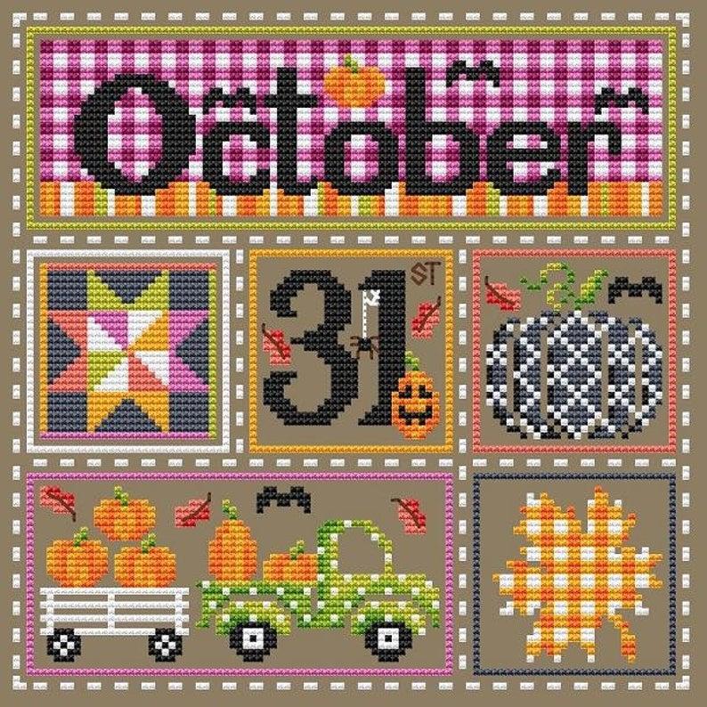 Shannon Christine OCTOBER 31ST Cross Stitch Pattern