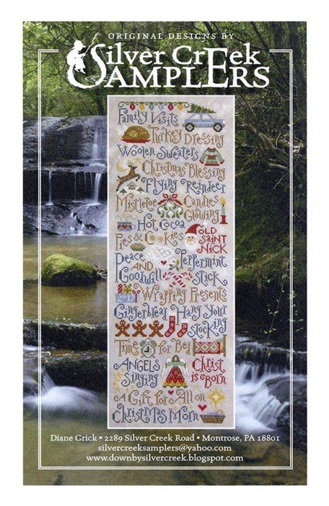 Silver Creek Samplers MY CHRISTMAS LIST Cross Stitch Pattern