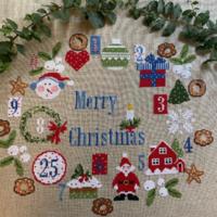 Lilli Violette Una Settimana A Natale – A WEEK To CHRISTMAS Cross Stitch Pattern