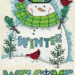 Winter Welcome Cross Stitch Kit Imaginating