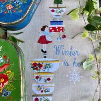 Lilli Violette WINTER IS HERE Cross Stitch Pattern
