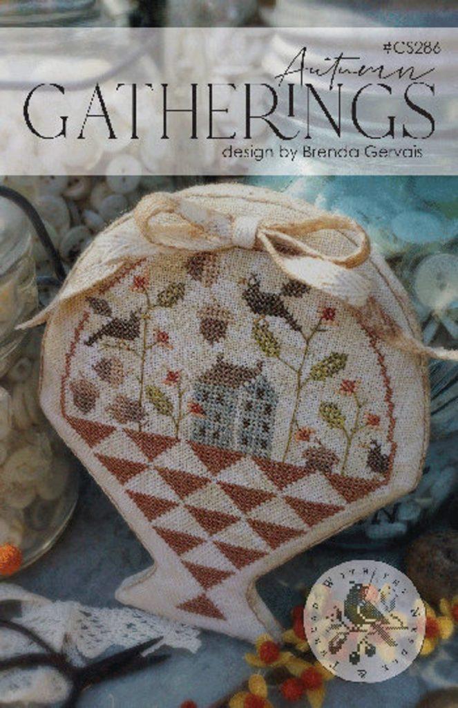 With Thy Needle & Thread AUTUMN GATHERINGS Cross Stitch Pattern