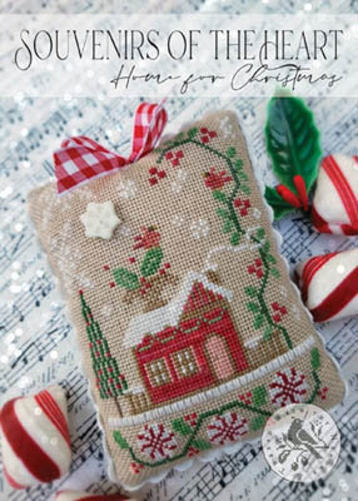 With Thy Needle & Thread HOME FOR CHRISTMAS - Souvenirs of the Heart - Cross Stitch Pattern
