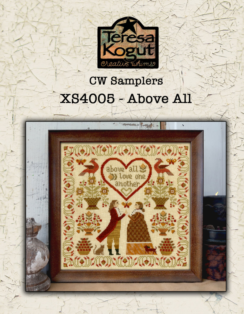 Teresa Kogut ABOVE ALL Cross Stitch Pattern