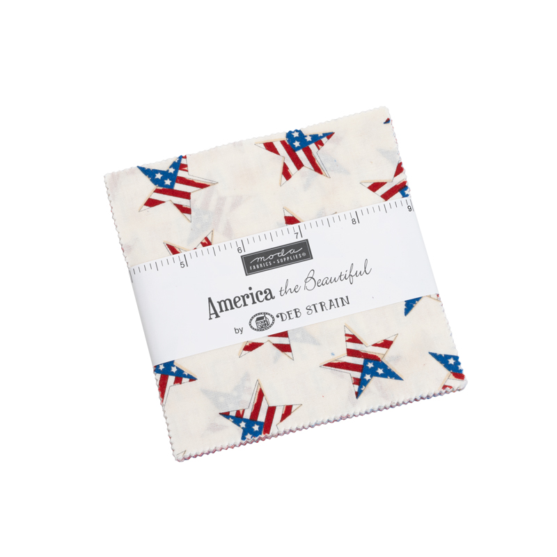 America the Beautiful Charm Pack - Anabella's