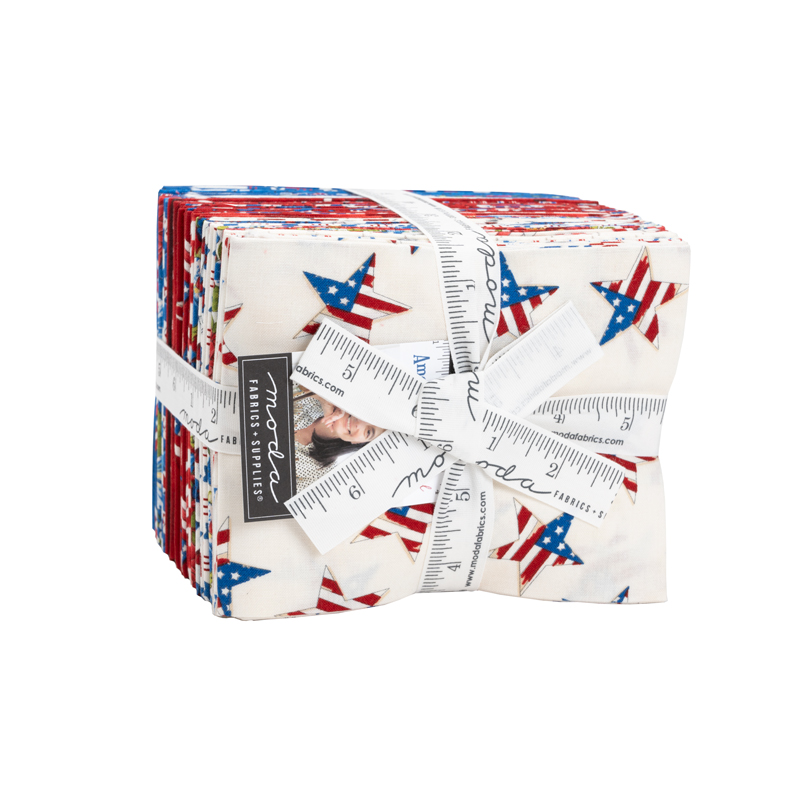 Moda AMERICA THE BEAUTIFUL Fat Quarter Bundle