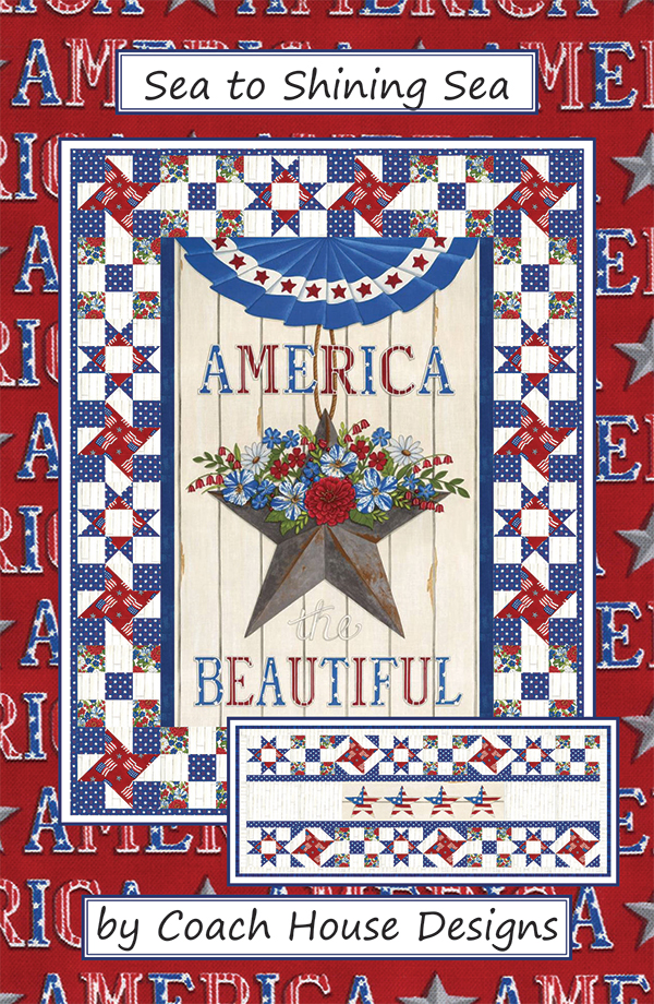 America the Beautiful Sea to Shing Sea Kit - Anabella's