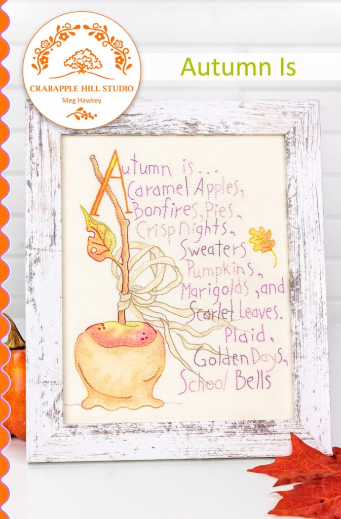 Crabapple Hill Studio AUTUMN IS Hand Embroidery Pattern