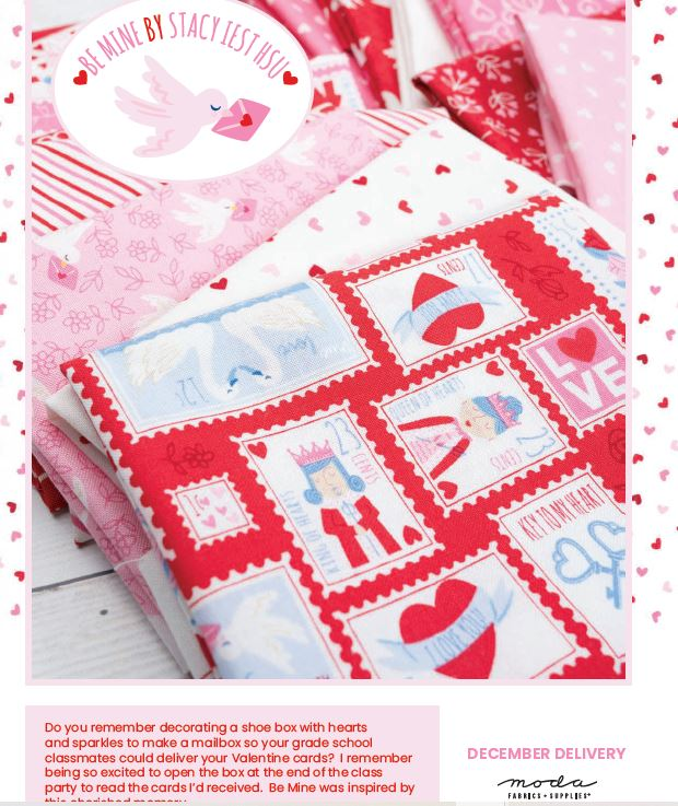 MODA BE MINE Fat Quarter Bundle