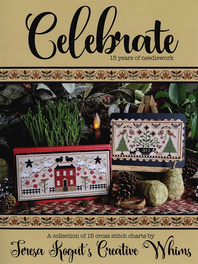 Teresa Kogut CELEBRATE PUNCH NEEDLE BOOK