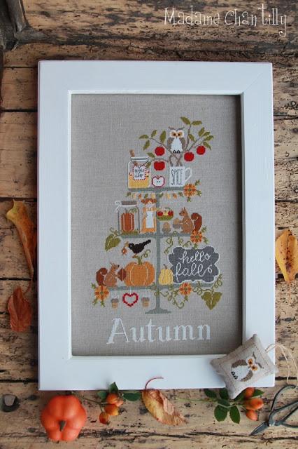 Madame Chantilly Celebrate Autumn