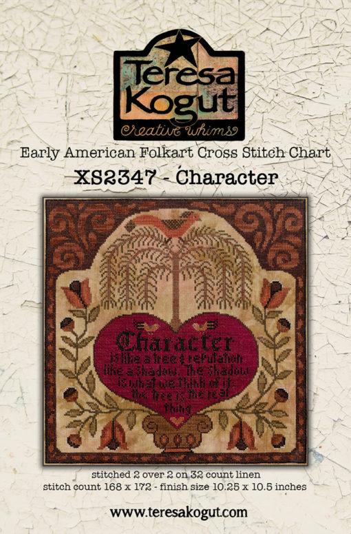Teresa Kogut CHARACTER Cross Stitch Pattern - Early American Folk Art