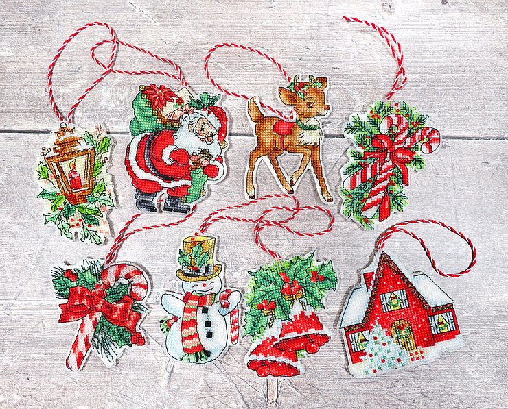 CHRISTMAS TOYS Cross Stitch Kit by Letistitch