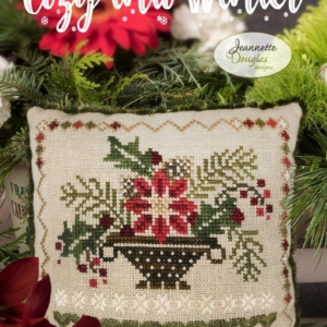 Jeannette Douglas Designs COZY INTO WINTER Cross Stitch Pattern