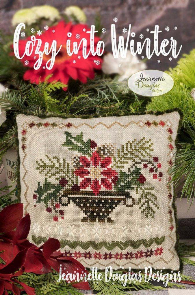 Jeannette Douglas Designs COZY INTO WINTER Cross Stitch Pattern