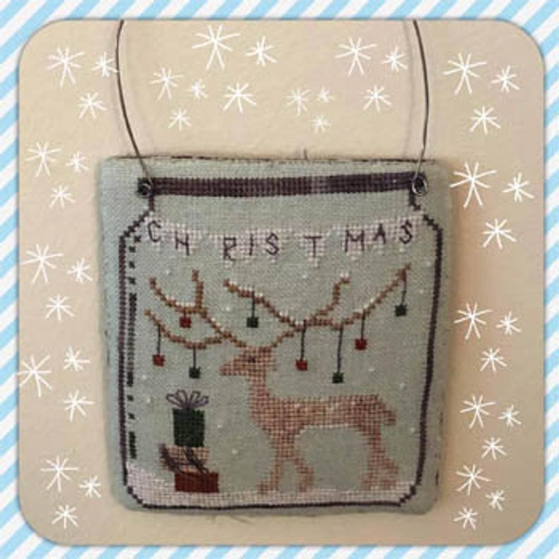 Dames of the Needle CHRISTMAS IN A JAR - Cross Stitch Pattern