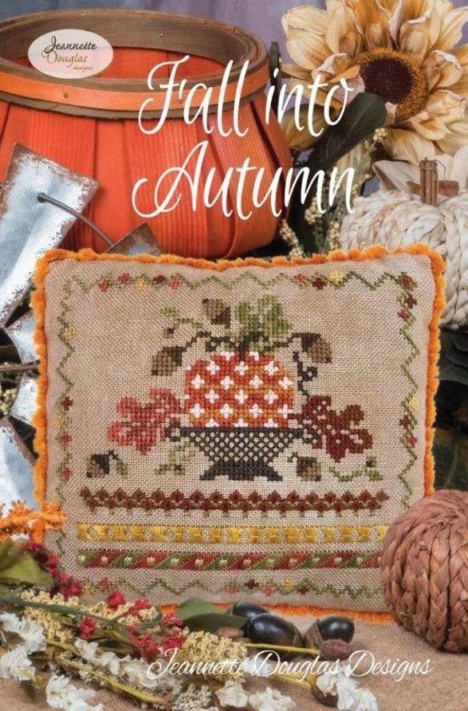 Jeannette Douglas Designs FALL INTO AUTUMN Cross Stitch Pattern