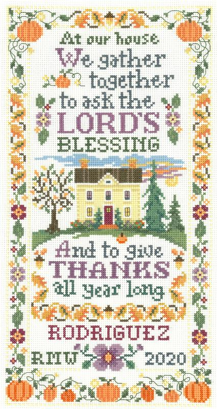 Imaginating GATHER TOGETHER Cross Stitch Pattern