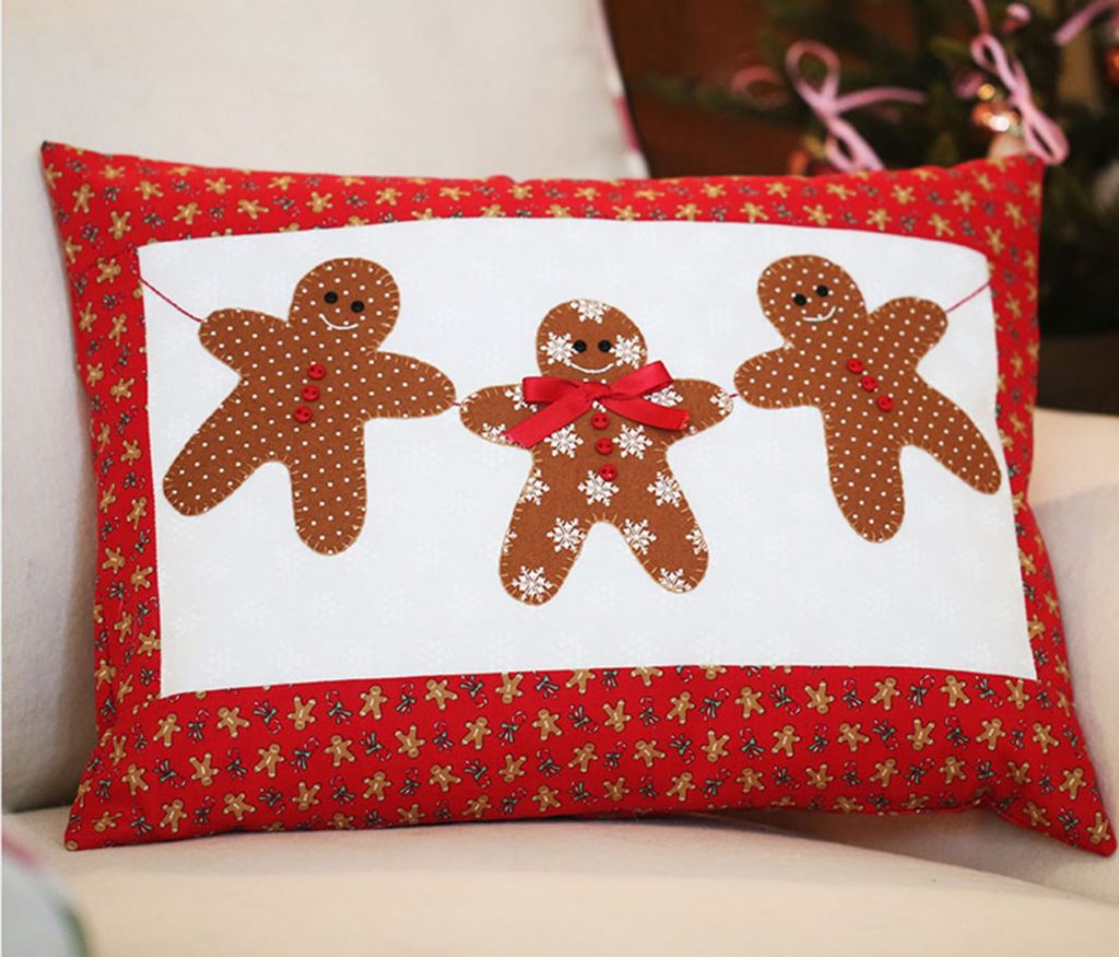 Bunny Hill Designs GINGERBREAD CHRISTMAS PATTERN