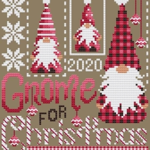 Shannon Christine GNOME FOR CHRISTMAS Cross Stitch Pattern