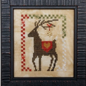 Heart in Hand Needleart DAZZLIN' DEER Cross Stitch Pattern