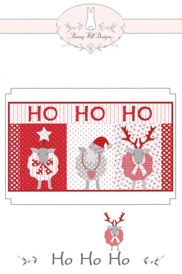 Bunny Hill Designs HO, HO, HO Quilt Pattern