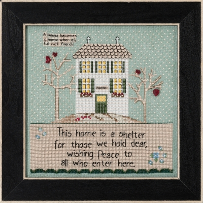 Mill Hill HOME IS A SHELTER Cross Stitch Kit