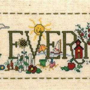 Imaginating HAPPY EVERYTHING Cross Stitch Kit