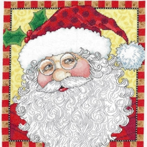 Imaginating Mary Engelbreit JOLLY ST. NICK Cross Stitch Pattern