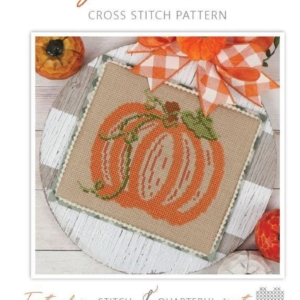 It's Sew Emma HEY PUMPKIN Cross Stitch Pattern