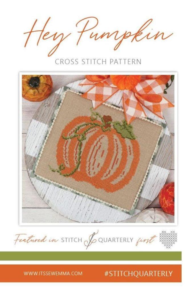 It's Sew Emma HEY PUMPKIN Cross Stitch Pattern
