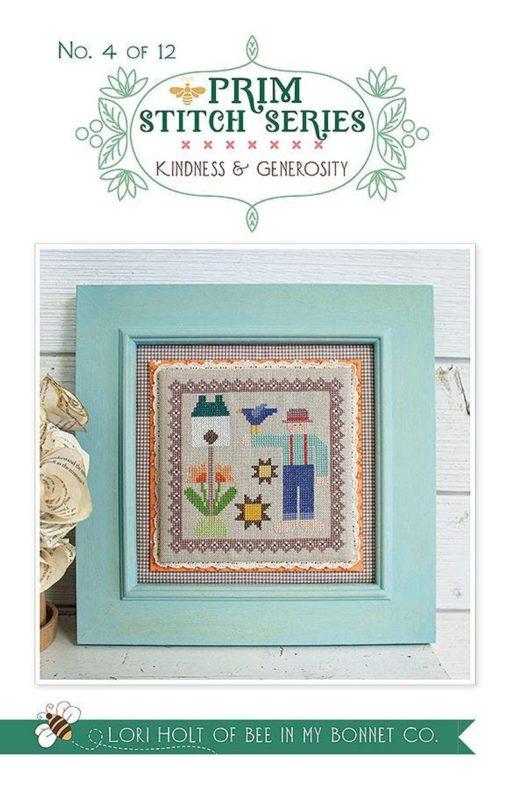 It's Sew Emma KINDNESS AND GENEROSITY #4 Cross Stitch Pattern Series