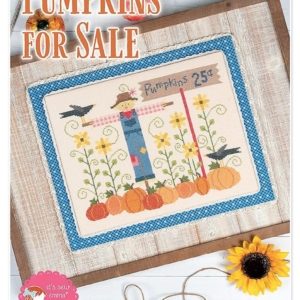 It's Sew Emma PUMPKINS FOR SALE Cross Stitch Pattern by Lori Holt