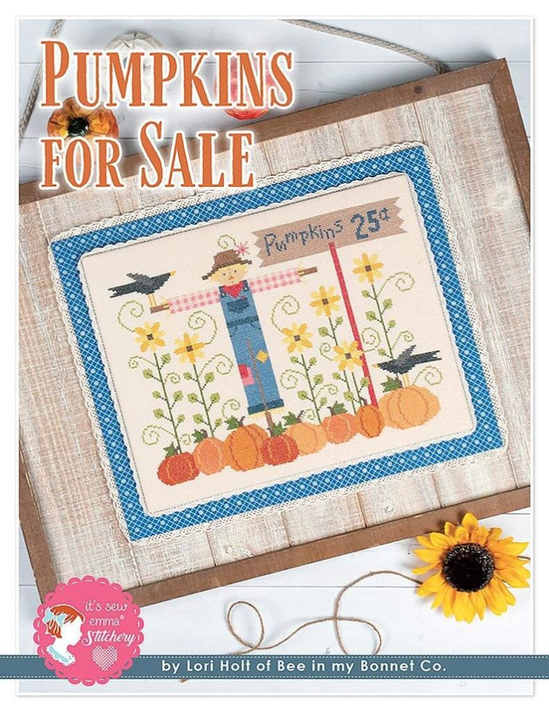 It's Sew Emma PUMPKINS FOR SALE Cross Stitch Pattern by Lori Holt