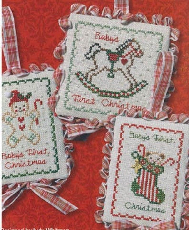 JBW Designs BABY'S FIRST CHRISTMAS Cross Stitch Pattern