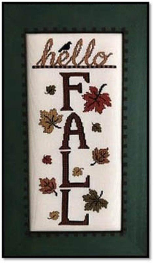 Kay's Frames & Designs HELLO FALL Cross Stitch Pattern