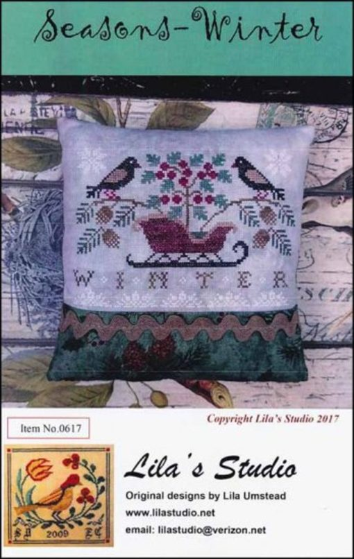 Lila's Studio SEASONS WINTER Cross Stitch Pattern