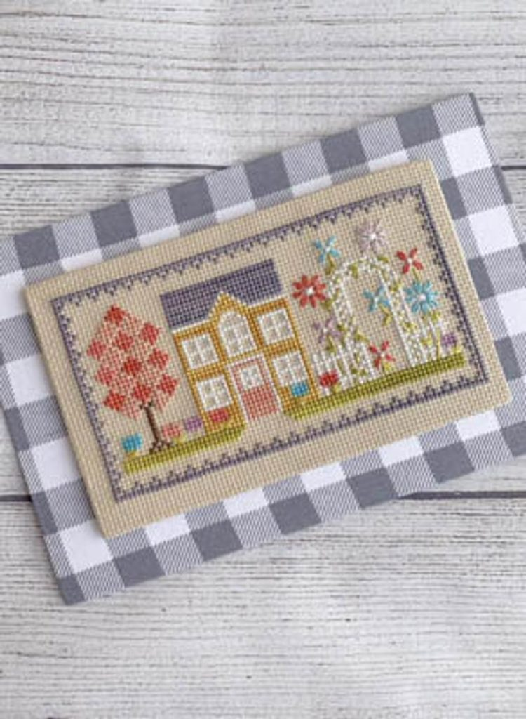 Little Stitch Girl BLOSSOM HOUSE Cross Stitch Pattern
