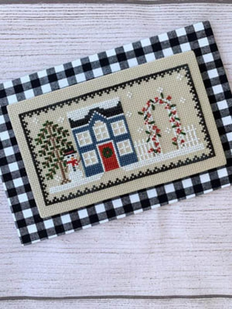 Little Stitch Girl FROST HOUSE Cross Stitch Pattern