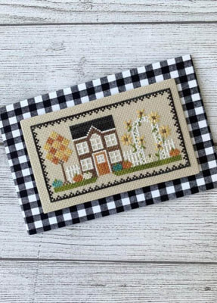 Little Stitch Girl HARVEST HOUSE Cross Stitch Pattern